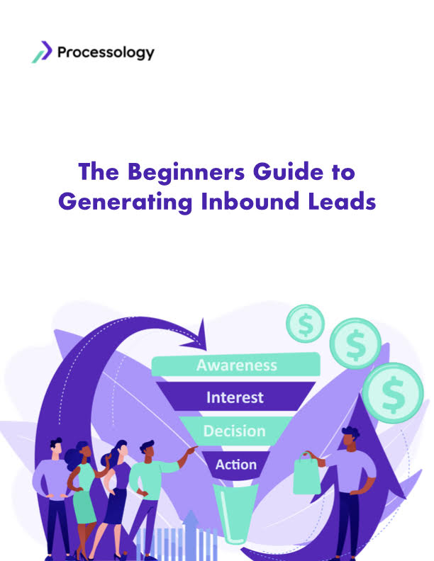 The Beginners Guide to Generating Inbound Leads Cover